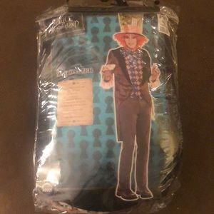 Mad hatter men's costume.
